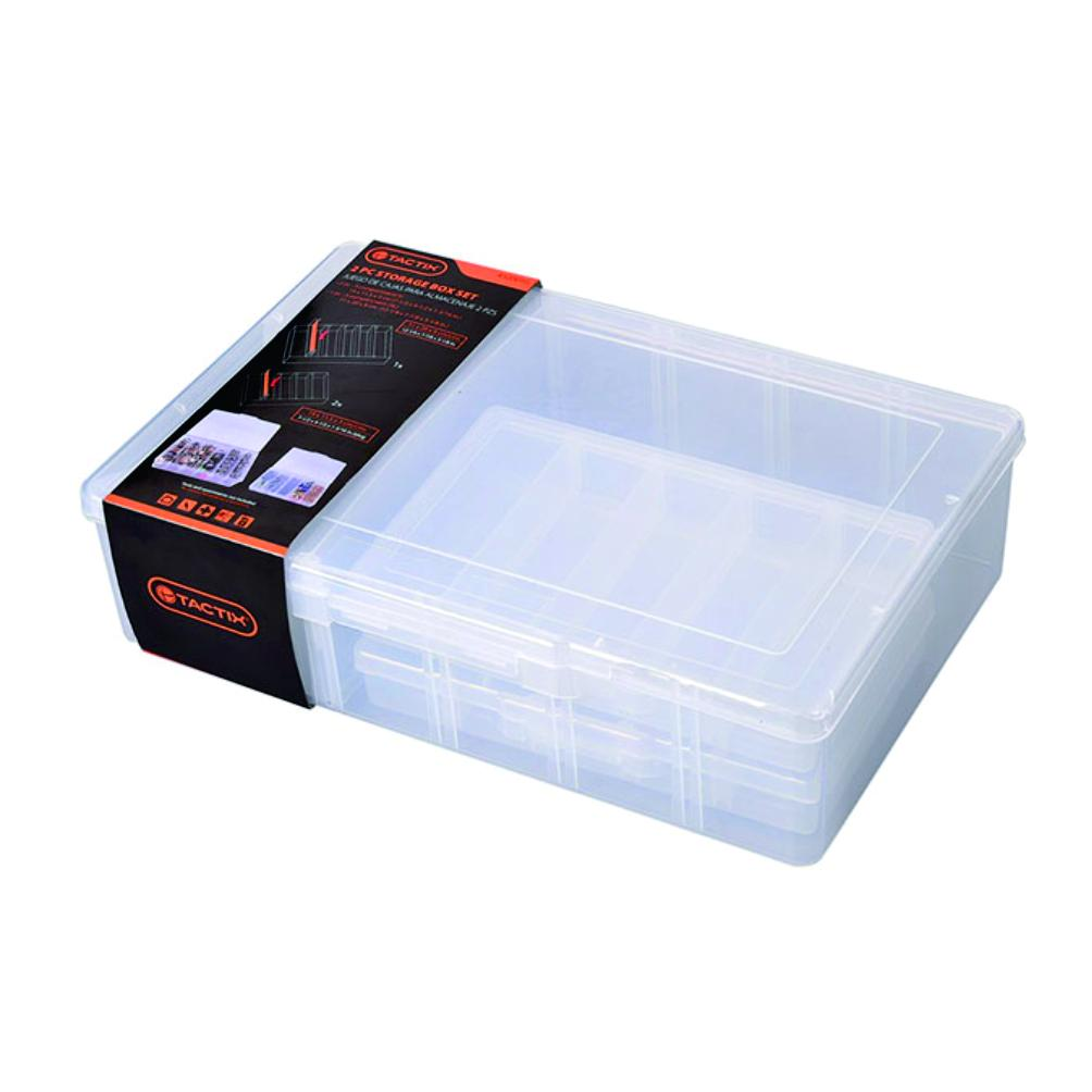 Photo of Tactix Compartment Storage Box (3Pcs)