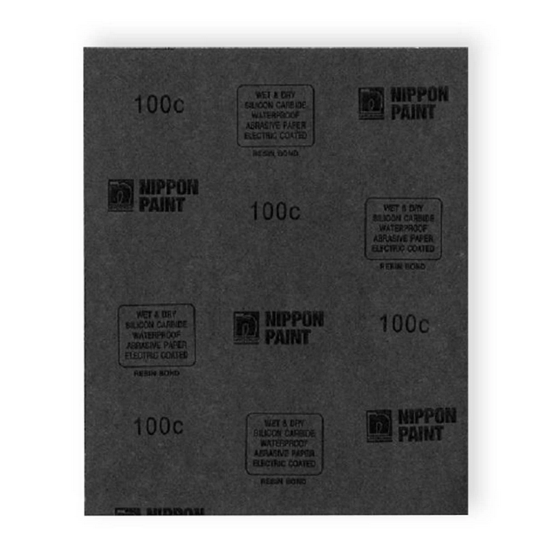 Nippon Paint Abrasive Waterproof Sandpaper from 80C to 2000C