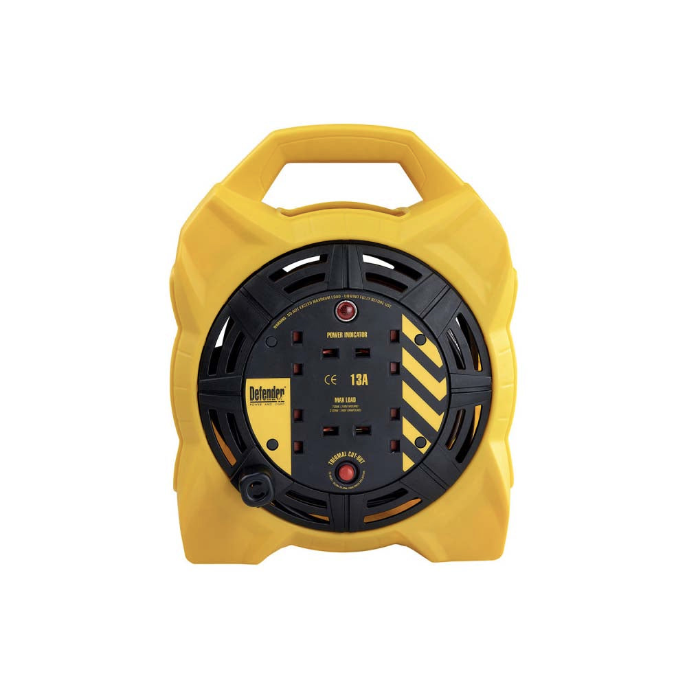 Defender Power and Light 240V 15m Box Reel