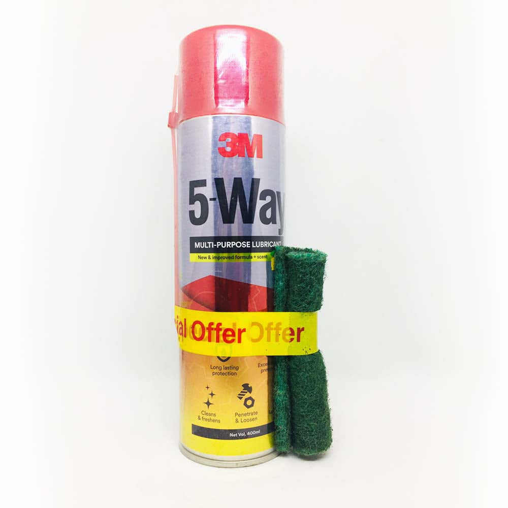 3M 5-Way Multi-purpose Lubricant