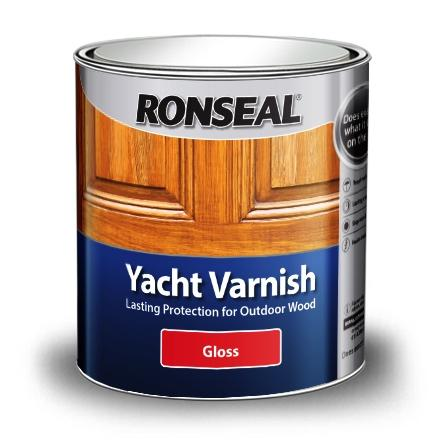 Ronseal Yacht Varnish Stain Gloss 500ml (08882)