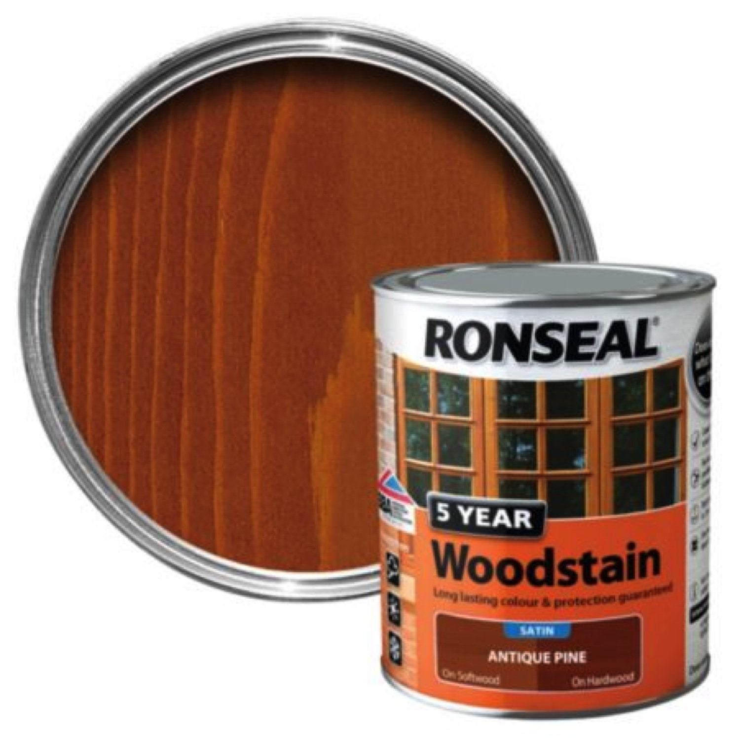Photo of Ronseal 5Yr Woodstain Antique Pine 750ml