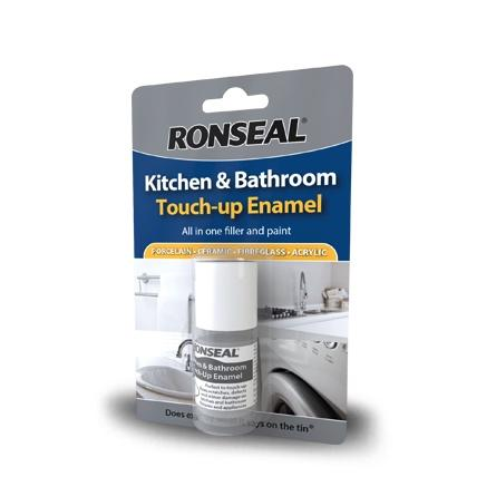 Photo of Ronseal Kitchen & Bathroom Touchup Enamel 10ml