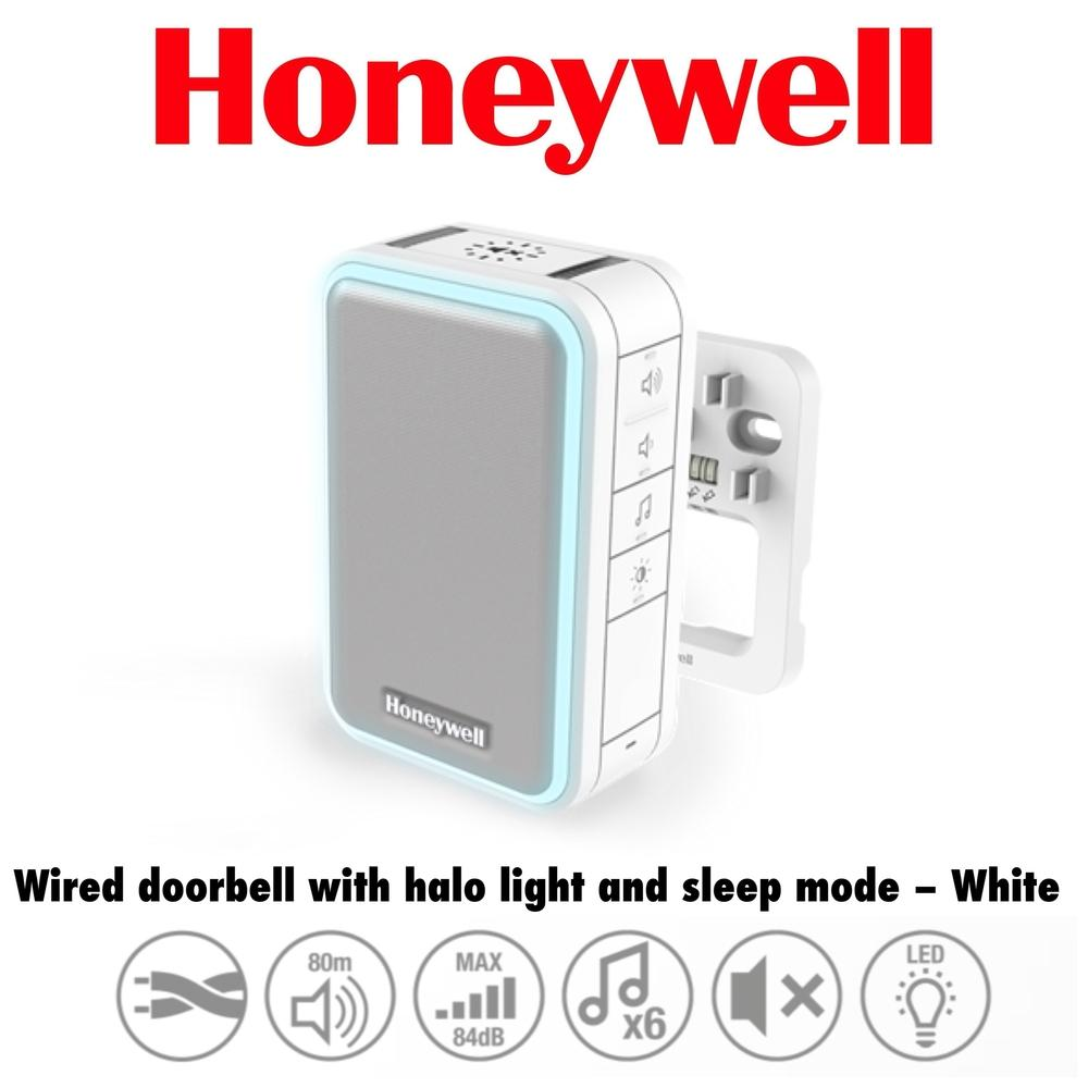 Honeywell Wired Doorbell With Light And Sleep Mode