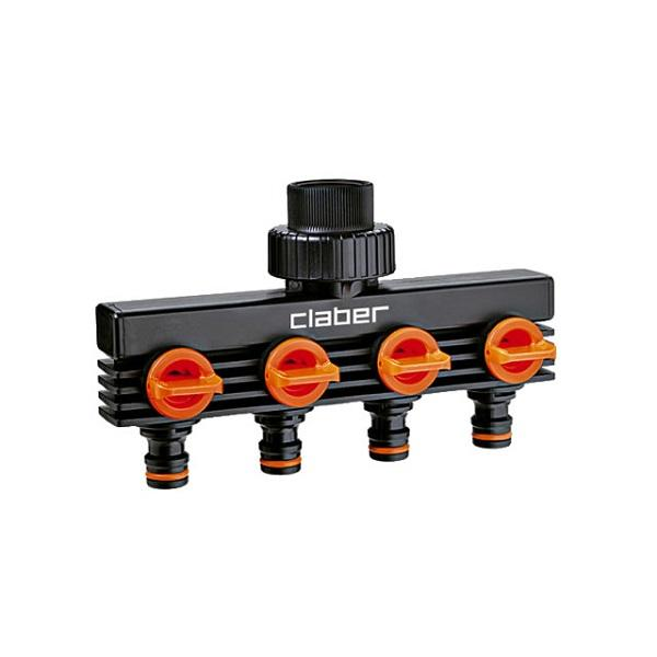 Photo of Claber 8581 4 Outlets Distributor