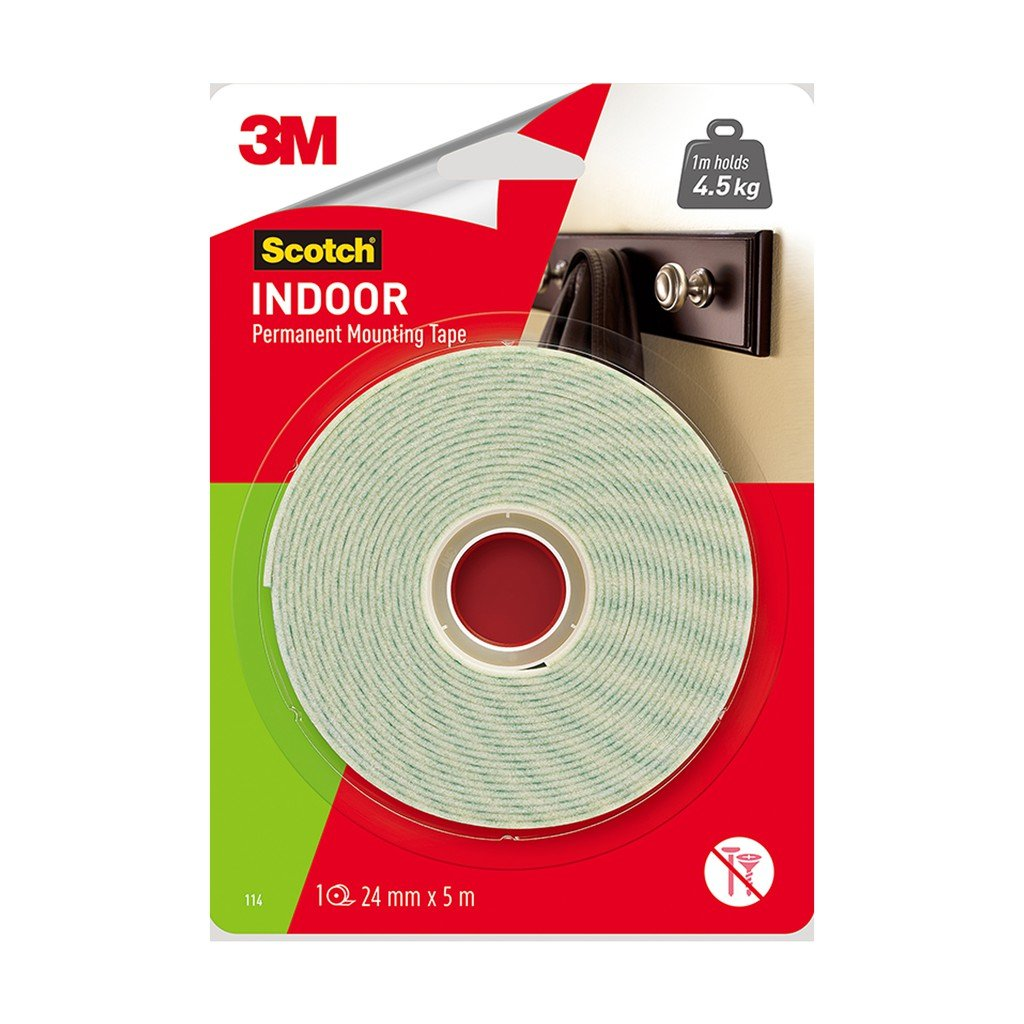 3M SCOTCH Mounting Tape 12mm X 5m
