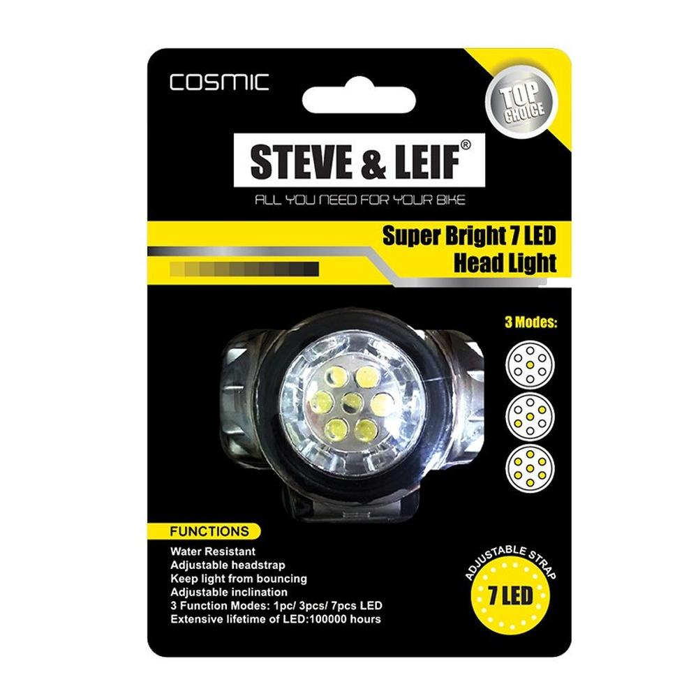 Featured Product Photo for S&L Cosmic Super Bright 7 Led Headlights