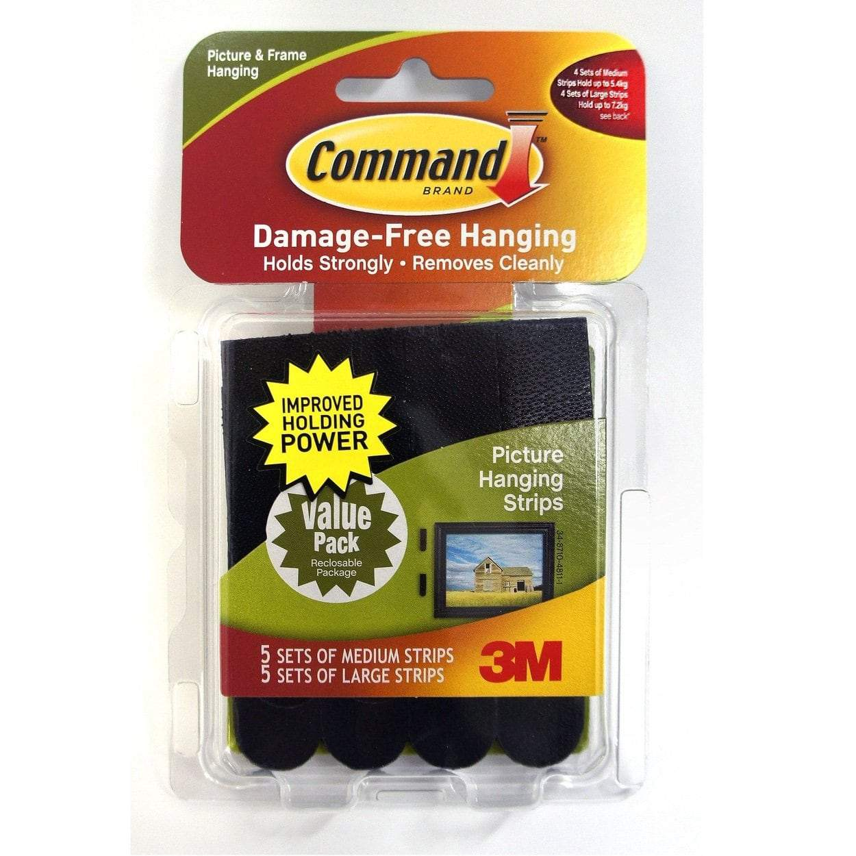 Photo of 3M Command Medium & Large Picture Hanging Strips
