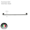 Photo of COLOSEO Series Single Towel Bar