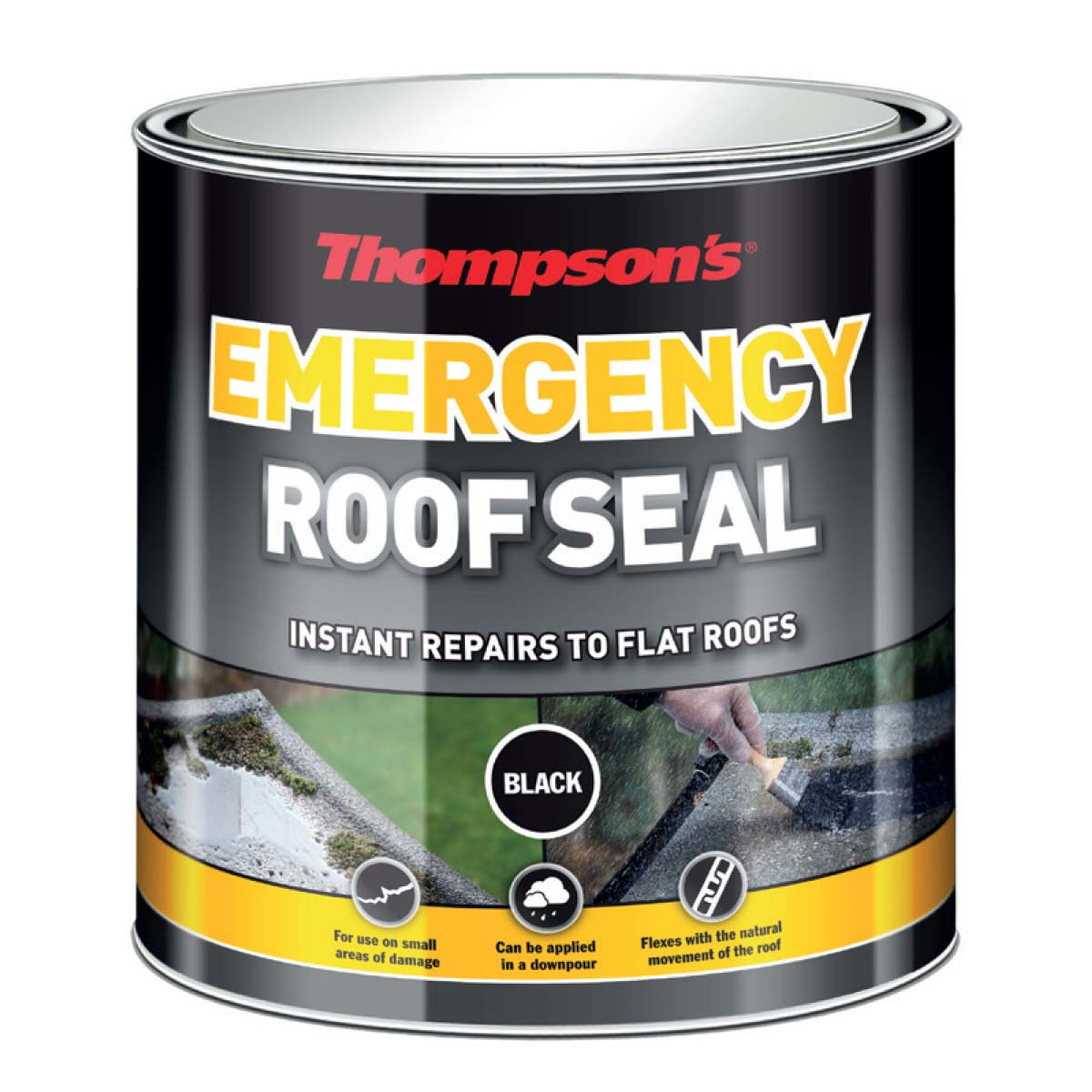 Thompson's Emergency Roof Seal (Black) 1L (32219)