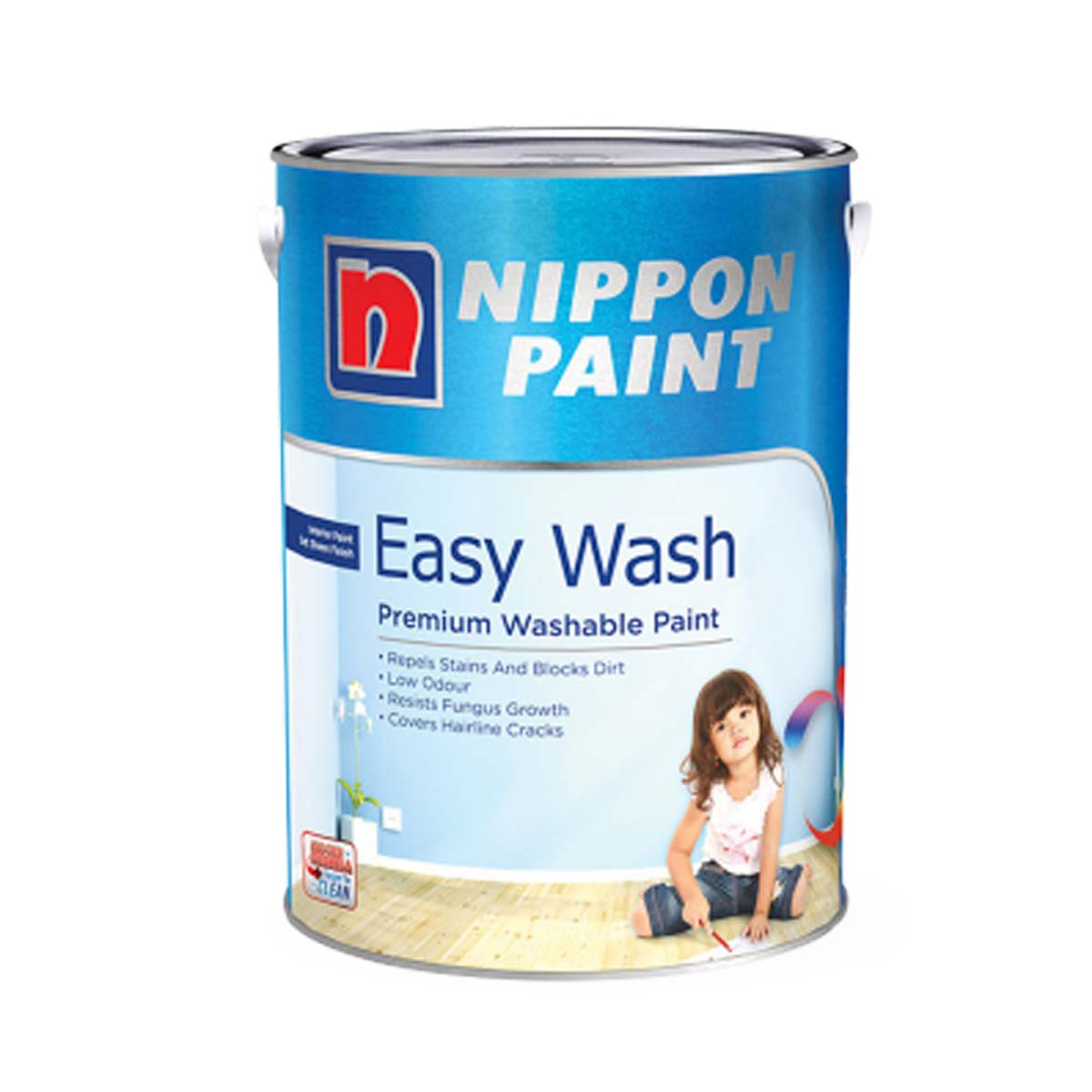 Nippon Easy Wash with Teflon (All Popular Colours)