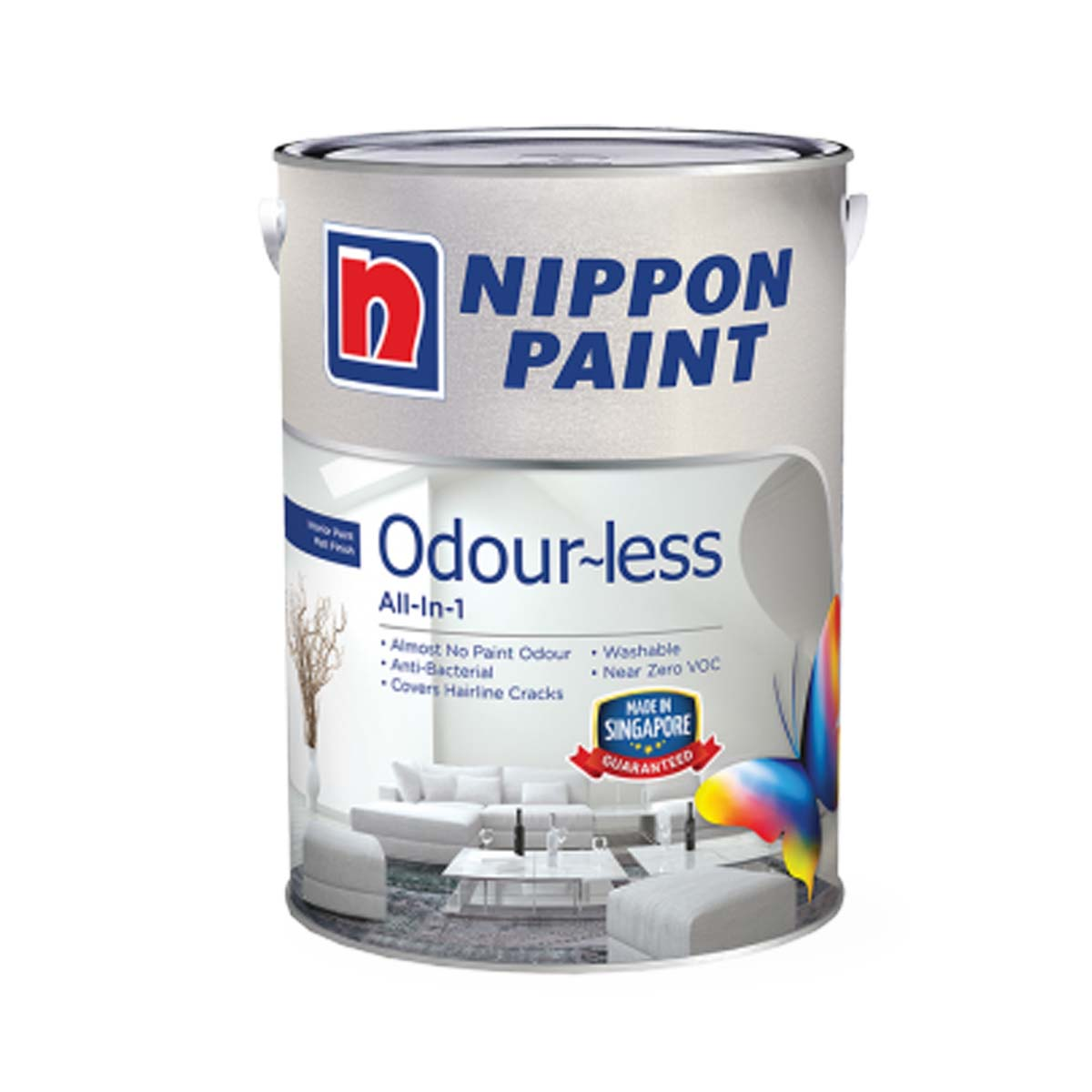 Nippon Odour-Less All-in-1 (All Popular Colours)