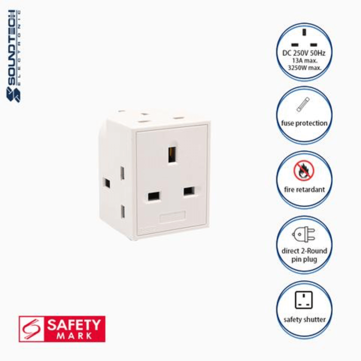 Soundteoh 3 Multiway Adaptor PP-35