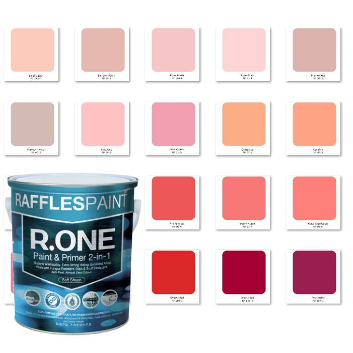 Raffles Paint R.One (Pink/Red)