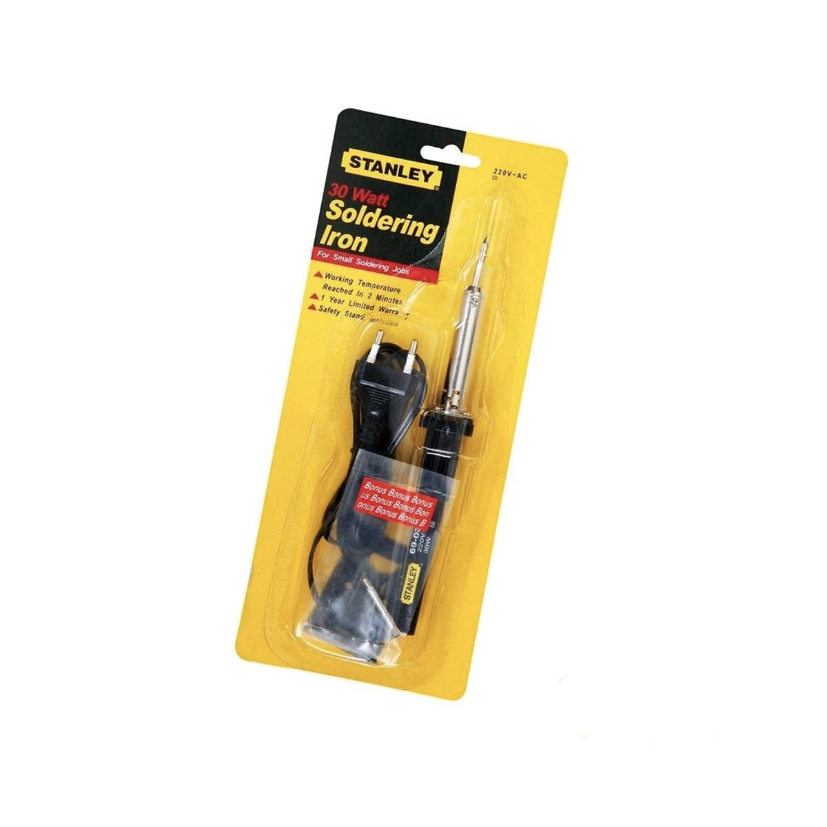 Stanley Round Corded Soldering Iron 30w