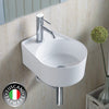 Photo of Wall / Deck Designer Basin - Plain Rounded Basin