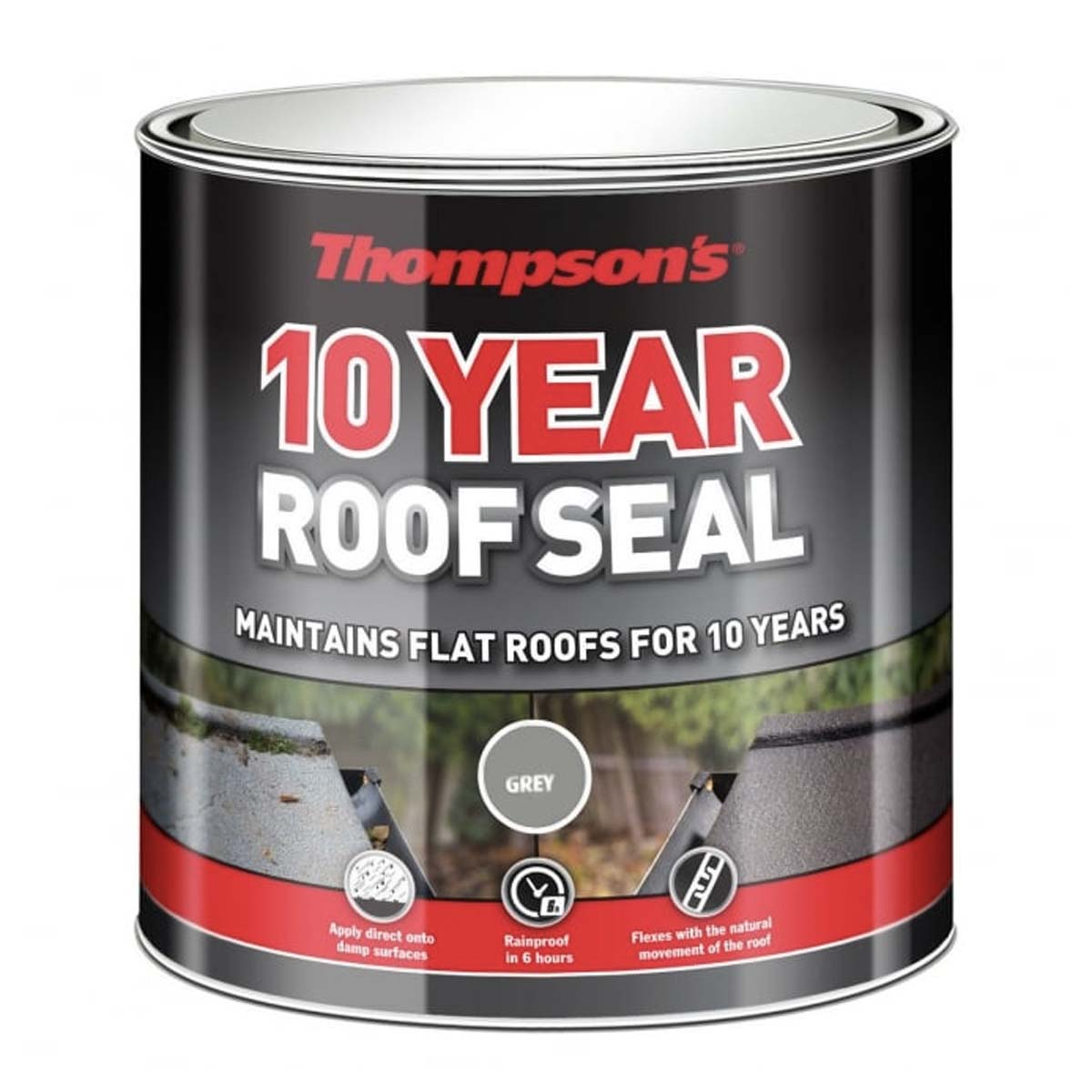 Thompson's 10YR Roof Seal (Grey) 1L (30143)