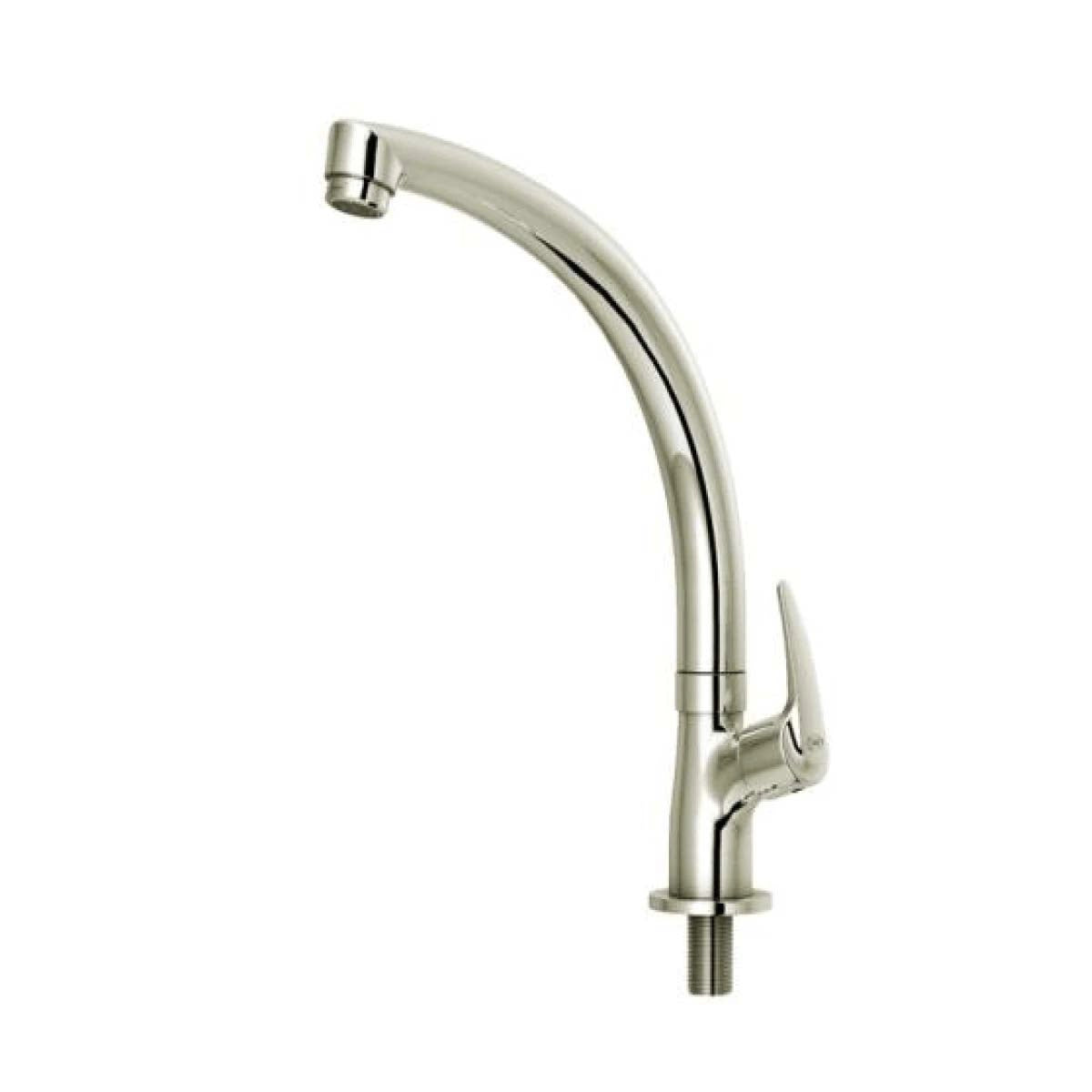 AER Cold Brass Table-Mount Kitchen Faucet (VCR 01B)