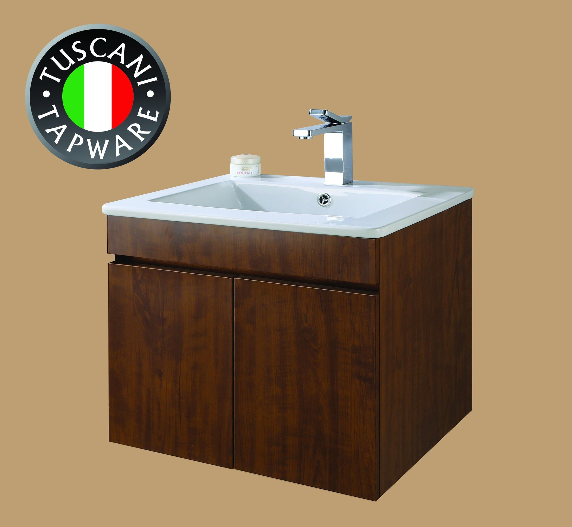 Tuscani Tapware VC53CW Vanity Cabinet (Concept Wood)
