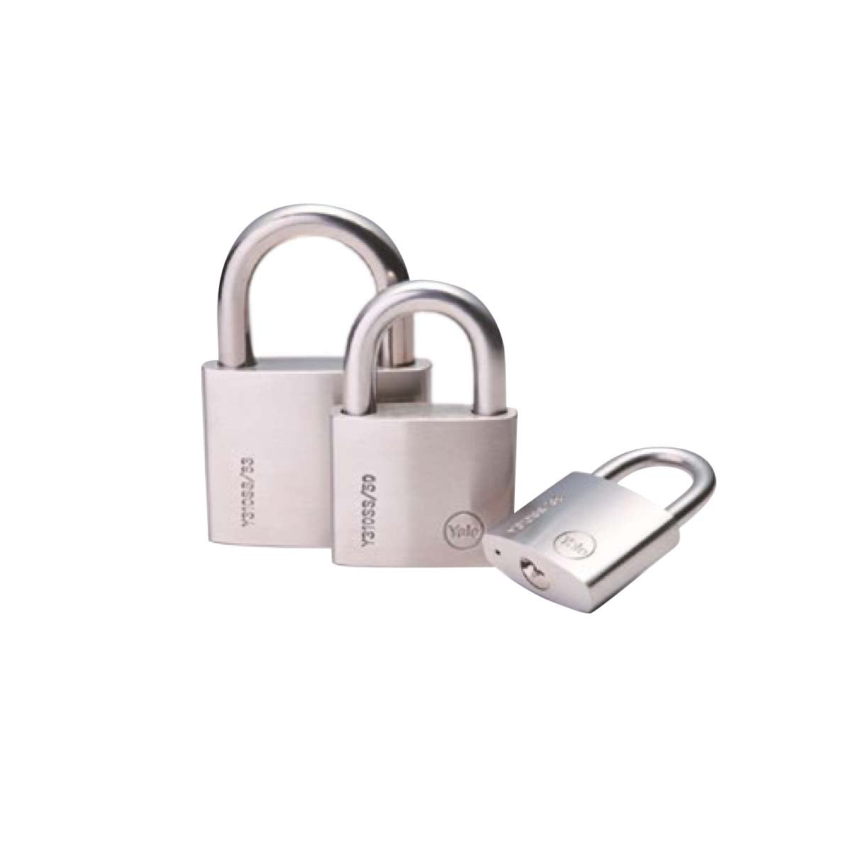 Yale Stainless Steel Padlock - Long Shackle 50mm (Y310SS/50/160)