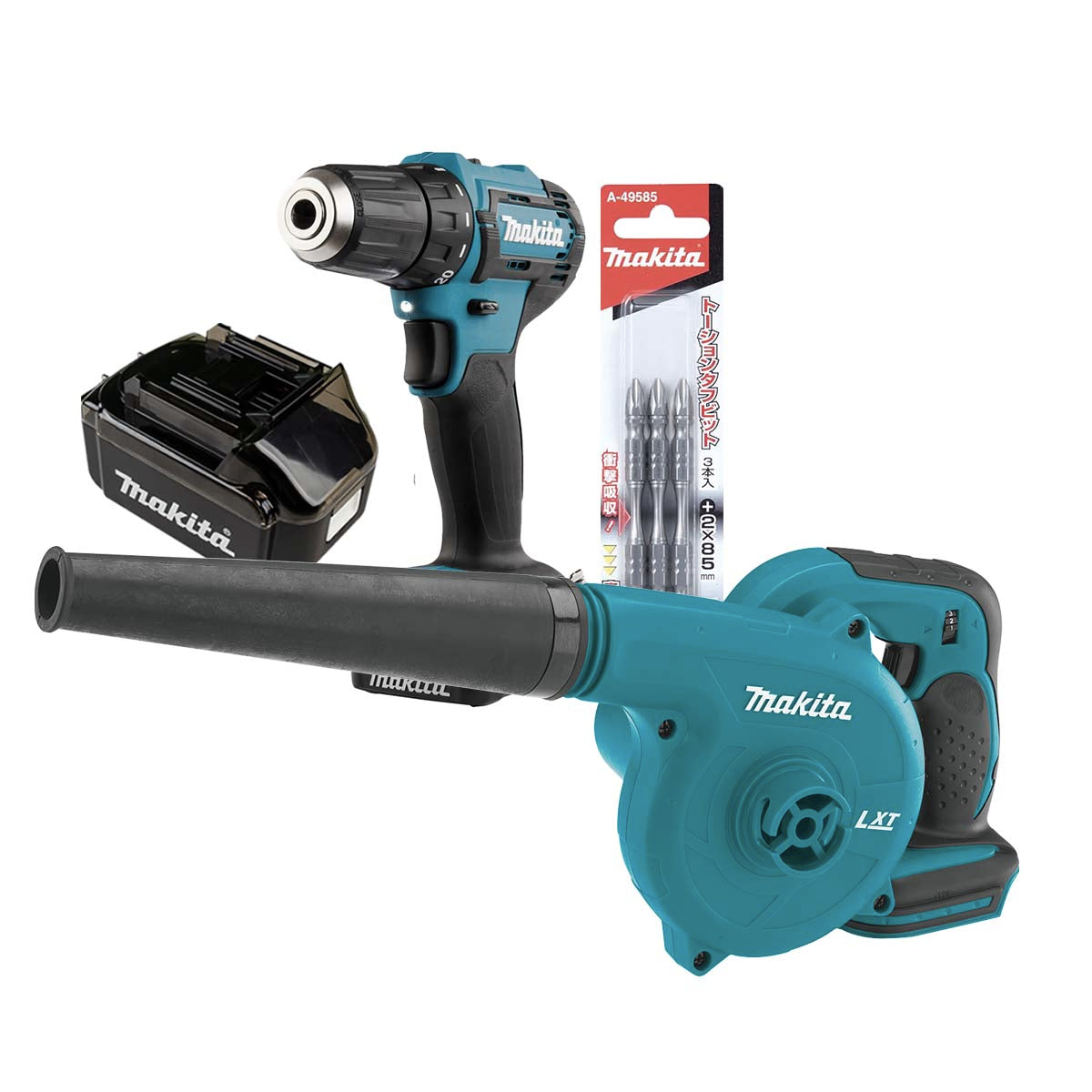 Makita DC Driver Drill 12V (DF333DNX10) - COMBO SET 3