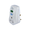 T&J Electric RCD Safety Protection Socket Adaptor (K7813RCD) ***