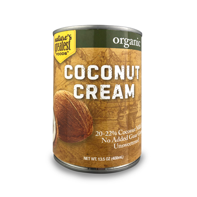 COCONUT CREAM - ORGANIC, 13.5 Oz (Pack of 12)