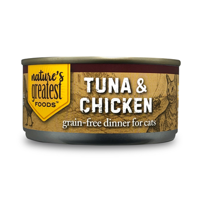 Tuna & Chicken in Jelly – Grain Free, 5 Oz