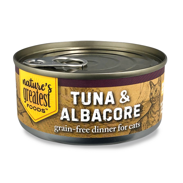 Tuna & Albacore in Jelly – Grain Free, 5 Oz