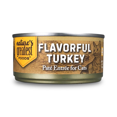 Flavorful Turkey – Cat Food Patè, 5.5 Oz
