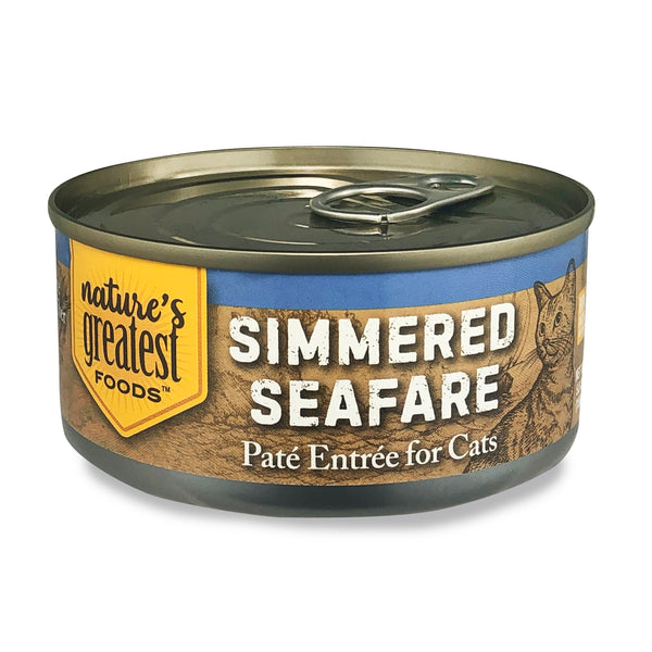 Simmered Seafare - Cat Food Pate