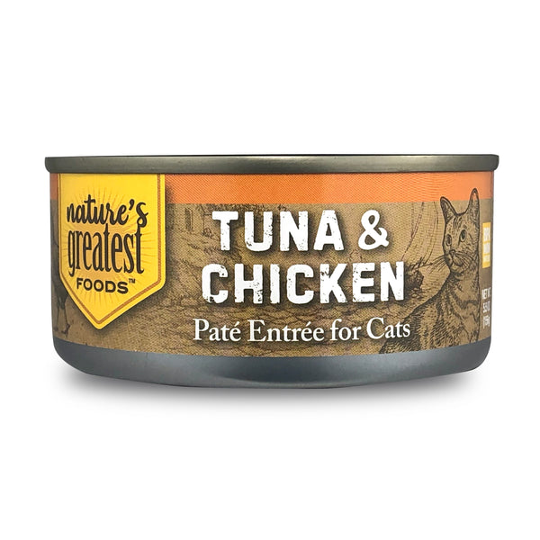 Tuna & Chicken - Cat Food Pate