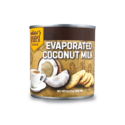 EVAPORATED COCONUT MILK, 9.5 oz