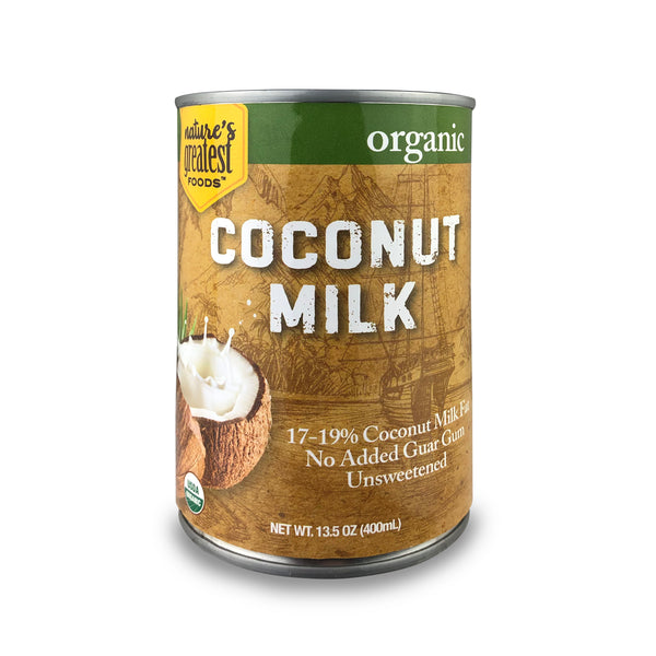 COCONUT MILK - ORGANIC, 13.5 Oz