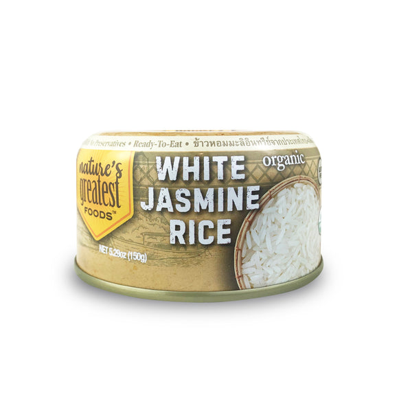 READY-TO-EAT JASMINE RICE ORGANIC, 5.29 Oz