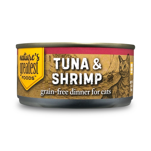 Tuna & Shrimp In Jelly – Grain Free, 5 Oz
