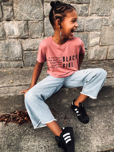 If you don't know what to spend your money on, invest it in a BLACK GIRL Tee