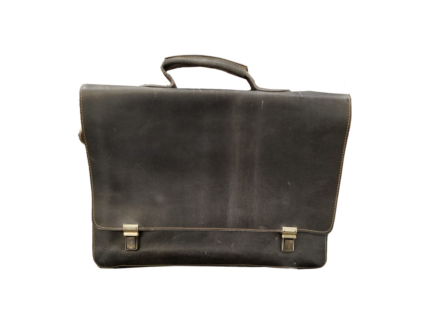 Double Clasp Briefcase