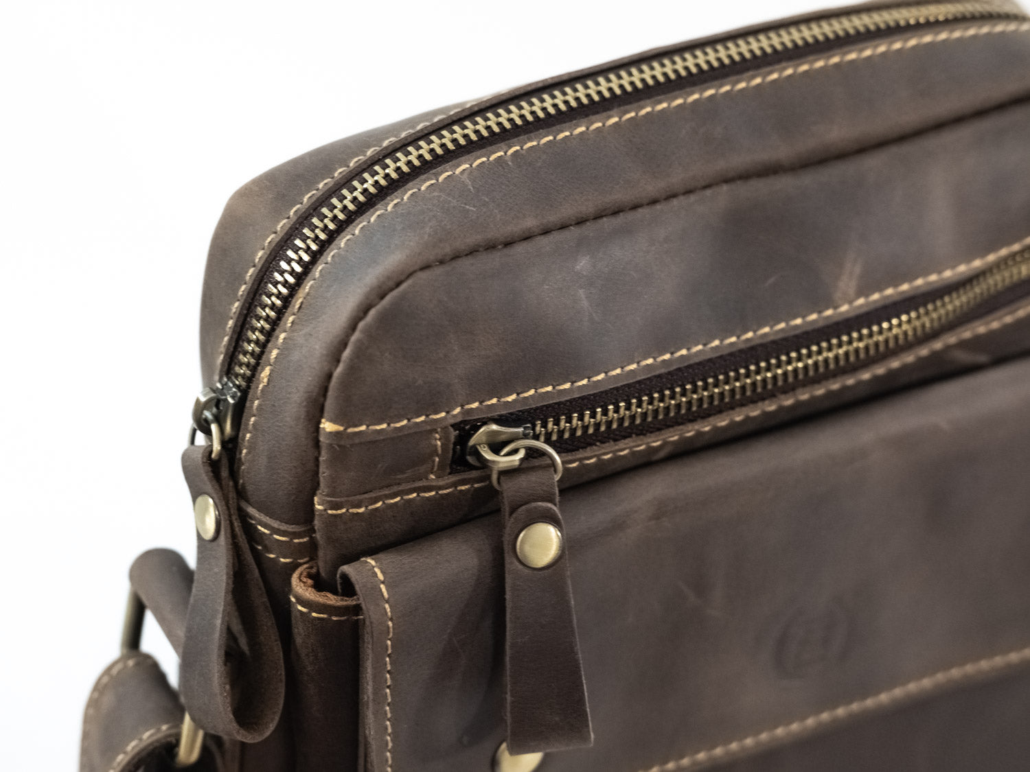 Zipper Satchel