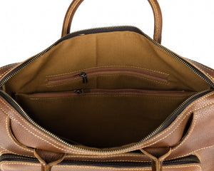 Double Zipper Laptop Bag