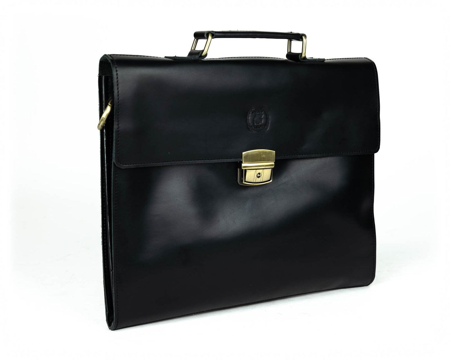 Front Buckle Briefcase