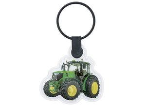 John Deere keyring of the 6250R tractor