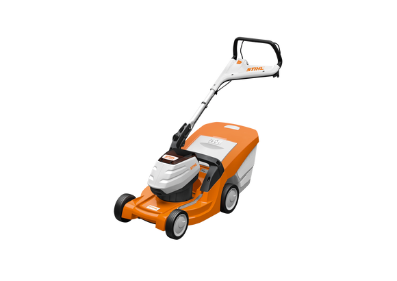 STIHL RMA 443C Walk Behind / Push Mower in Orange with white and black details