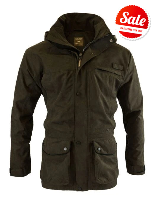 Product image of the Ashcombe Jack Pyke jacket in olive brown