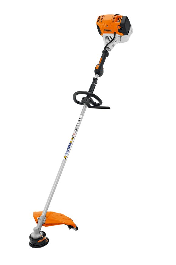STIHL FS 111 R Brush Cutter product image showing the product with a round handle