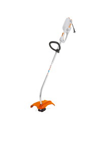 STIHL FSE 60 Electric Brush Cutter product image showing the brush cutter with a black round handle