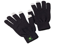 John Deere Touch Gloves - Black