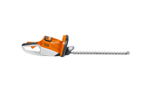 A side on image of the STIHL HSA 66 Hedge Trimmer on a transparent background