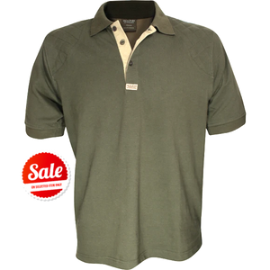 Jack Pyke Mens Sporting Polo Green