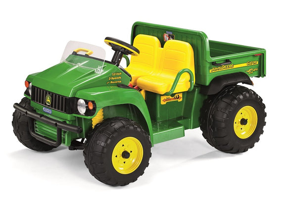 John Deere HPX children's electric gator in green